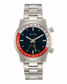 Jack Spade Watch Collection by Cuan Hanly #fashion #men #accessories