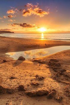 Sunset at Port Willunga, South Australia share moments