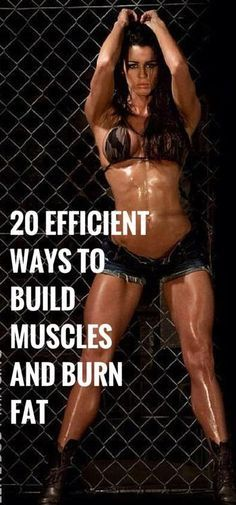 20 Best Fitness Tips To Build Muscles and Burn Fat Efficiently | Cute Health