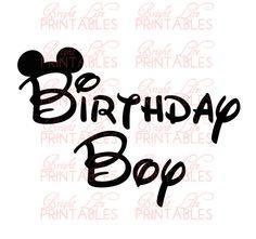 Disney+Iron+On+Transfer++Birthday+Boy++by+BrightLifePrintables,+$4.00