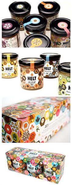 Tayla saved to recuperationDesign-Etiketten für Honig: Inspiration - Food Design, Graphisches Design, Label Design, Package Design, Honey Label, Blog Logo, Corporate Design, Identity Design, Logo Inspiration
