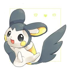 Embedded Pikachu Raichu, Pokemon Emolga, Pokemon Dex, Pokemon Stuff, Cute Pokemon Pictures, Pokemon Images, Easy Chibi Drawings, Mythical Pokemon, Avatar
