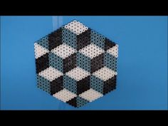 DIY: Bügelperlen Geometrische Grafische Muster: Trend 2016 Basteln selbe...