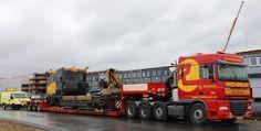 Schwertransport von Salzburg nach Skandinavien inkl. Begleitung und Transport-Einzelgenehmigung durch www.RachPOWER.at