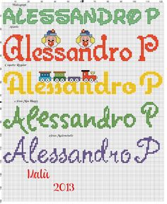 L'angolo di Malù 4 Baby Names, Cross Stitch, Bullet Journal, Happy, Camilla, Crochet, Party Stuff, Cross Stitch Embroidery, Feltro