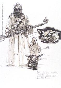 Tusken Raider concept art