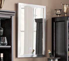 "Studio Mirror, 20 x 30"", Brushed Pewter finish $189...do you like this size?"