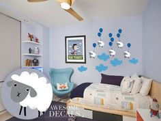 Kids Room Decal   Large Wall Decals  Nursery Wall Art