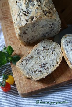 Garlic bread with linseed Garlic Bread, Food, Essen, Meals, Yemek, Eten