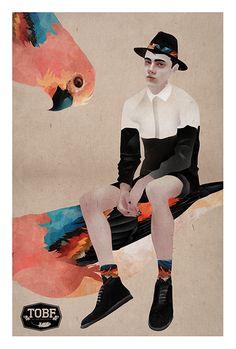 Illustration by Kevin Poveda, via Behance