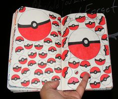 Wreck this journal: fill this entire page with circles