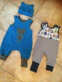 Babystrampler - free pattern / Schnittmuster