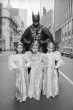 This is the last time I babysit your nieces Lois, I'm Batman remember.. supposed to be fighting crime!