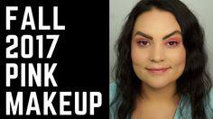 Fall Makeup Trends 2017 Pink Makeup Tutorial and CRAZY bug experience | ...
