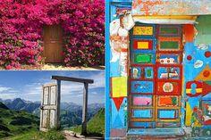 Невероятно красивые двери, которые приоткрывают иные миры