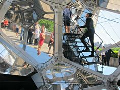 Tomas Saraceno art installation at the Metropolitan Museum of Art #NYC