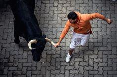 Running of the Bulls, Pamplona, 2011