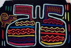 Kuna Indian 18th Hole Golf Course Mola Art-Panama 15110115L