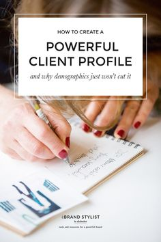 Ideal Client Profile Template