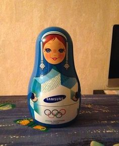 Sochi 2014 Olympic Nesting Doll Matrioshka Dock Station Samsung Limited Edition | eBay