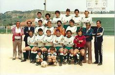 PESCADORES DA COSTA DA CAPARICA-81/82-FUTEBOL DE OUTROS TEMPOS