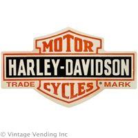 Harley Davidson Bar and Shield Tin Sign #harley  http://www.retroplanet.com/PROD/28162