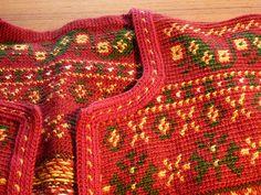 My cardigan 2010 01 24 4 Slip Stitch Crochet, Knit Crochet, Crochet Sweaters, Crochet Clothes, Tapestry Crochet, Knitting Ideas, Hobbies And Crafts, Finland, Crocheting