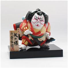 Hakata doll by Nishito Tetsusaburo(西頭哲三郎)/ Kabuki わらべ歌舞伎人形 矢の根