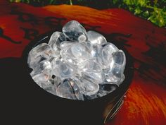 Water Clear Quartz Tumbled Gemstone - pagan wiccan witchcraft magick ritual supplies