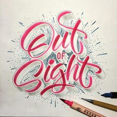 brush script, lettering + calligraphy inspiration for hand lettering, illustration + typography projects