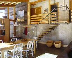 Elbow Coulee cabin by Balance Associates, Architects, http://www.balanceassociates.com/