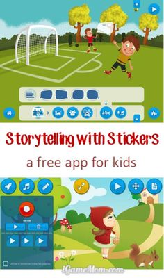 Do you like those sticker apps? They make it easy for travel with kids. Have you tried stickers for storytelling? How about math learning and practice? This free app has tons of learning ideas for you, and designed the perfect package for kids to create stories, learn and play.