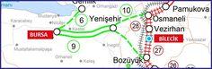 Bursa – Bilecik Hızlı Demiryolu Projesi
