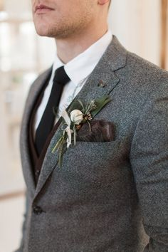 grooms attire - photo by Samantha Jay Photography http://ruffledblog.com/swiss-chalet-wedding-inspiration