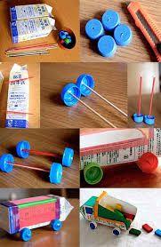 juguetes con material reciclado paso a paso