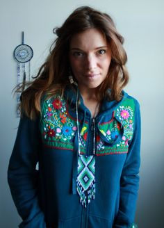 Mexican Embroidered Eco Chic Bohemian by MountainGirlClothing, $60.00