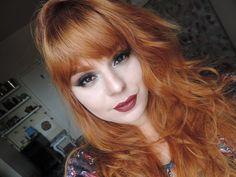 Ruivo Acobreado Com Tinta de Farmácia: Ruiva em Casa #cabelo #ruivo #ruivoacobreado #cobre #ruivodossonhos #tintura #coloração