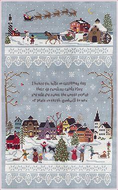 Christmas Village - Victoria Sampler