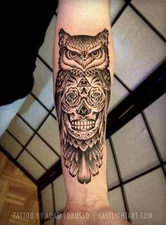 Image result for forearm tattoo sugar skull