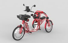 Cargo Bike Designed for Tall People to Move Fast