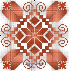 Awesome Most Popular Embroidery Patterns Ideas. Most Popular Embroidery Patterns Ideas. Broderie Bargello, Bargello Needlepoint, Needlepoint Stitches, Needlework, Hardanger Embroidery, Ribbon Embroidery, Embroidery Stitches, Bargello Patterns, Doily Patterns
