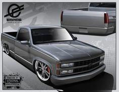 454 Ss Truck, Chevy Trucks Lowered, Obs Truck, Custom Chevy Trucks, Chevy Pickup Trucks, Chevy Pickups, Chevrolet Trucks, C10 Trucks, Silverado Single Cab