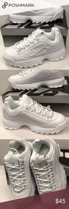 d206dd5d346 FILA DISRUPTOR 2 You ll definitely be disrupting the usual parade of  sneakers on the