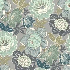 Plantation Patterns, LLC Charleston Floral Outdoor Pouf Cushion - The Home Depot Outdoor Pouf, Outdoor Dining Chair Cushions, Motif Floral, Floral Fabric, Surface Pattern Design, Pattern Art, Textile Patterns, Print Patterns, Hippie Wallpaper