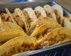 Oven Tacos and Homemade Taco Seasoning