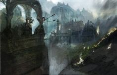 LOTR Batlle For Middle Earth Concept Art