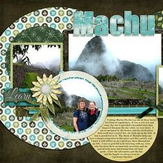 56+ ideas for travel scrapbook layouts colour #travel