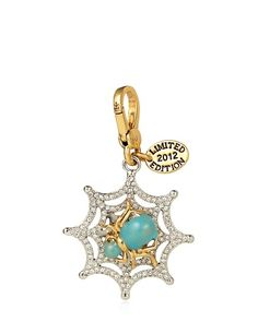 #frightfulfaves Juicy Couture Limited Edition '12 Pave Web Charm. $62. @Juicy Couture