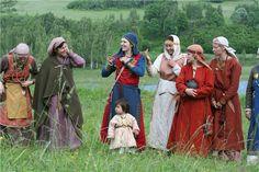 Slavic Rus (Кривичи/Krivichi) women  Cross over of Russian and Northern European / Scandinavian