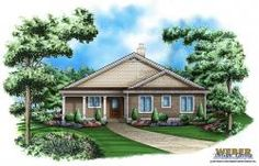 Hickory Oaks Home Plan -Craftsman House Plan